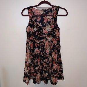 American Eagle Flower Tank Dress sz S!